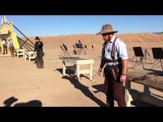 Winter Range 2016 - Top 16 Shootout - Cowboy Action Shooting- Deuce Stevens and Cobra Cat