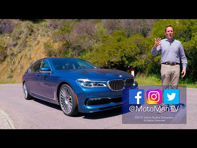 2017 BMW Alpina B7 TECH REVIEW – The M Dvision G12 7 Series (1 of 2)