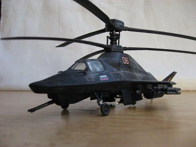 ЧЕРНЫЙ ПРИЗРАК Ка 58 миф или вертолет будущего