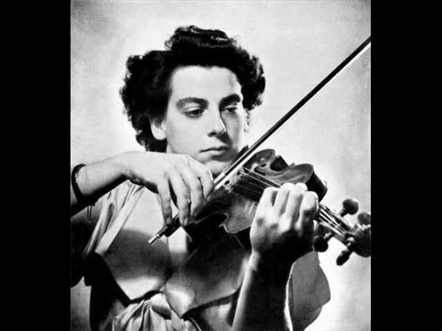 Ginette Neveu Bruno Seidler Winkler play Chopin Nocturne No 20 arr Rodionov