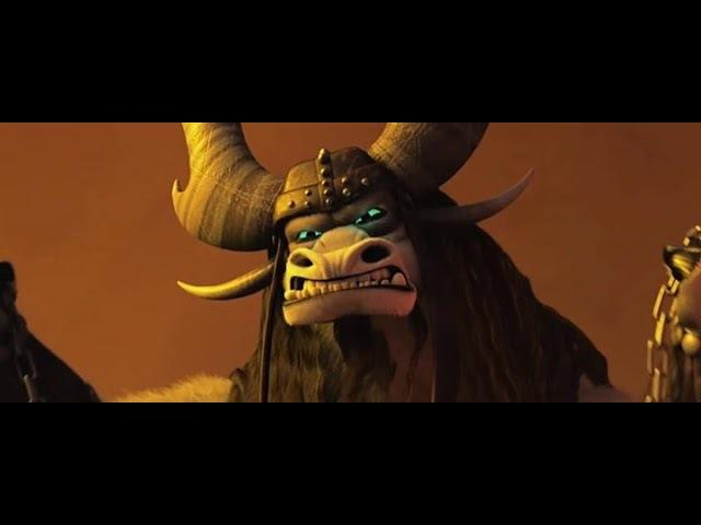 3 Кай против Война Дракона Кунг фу панда 3