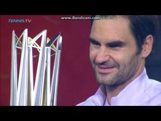 Roger Federer vs Rafael Nadal -  ShangHai 2017 awards ceremony