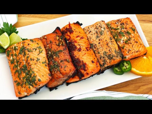 5 EASY Salmon Marinades