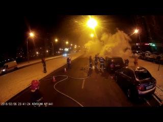 Ещё одно загорание автомобиля спасатели ликвидировали за прошедшие сутки