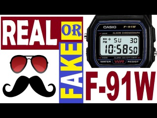 Casio F-91W Real or Fake - Quick Guide