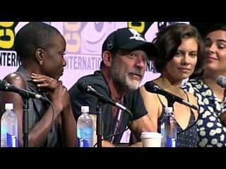 Что Джеффри Дин Морган Ненавидит в Нигане Comic Con 2017