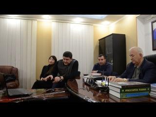Рустем Ниметуллаев на видео-конференции с Узбекистаном