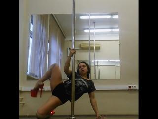 Мария Платицына exotic pole
