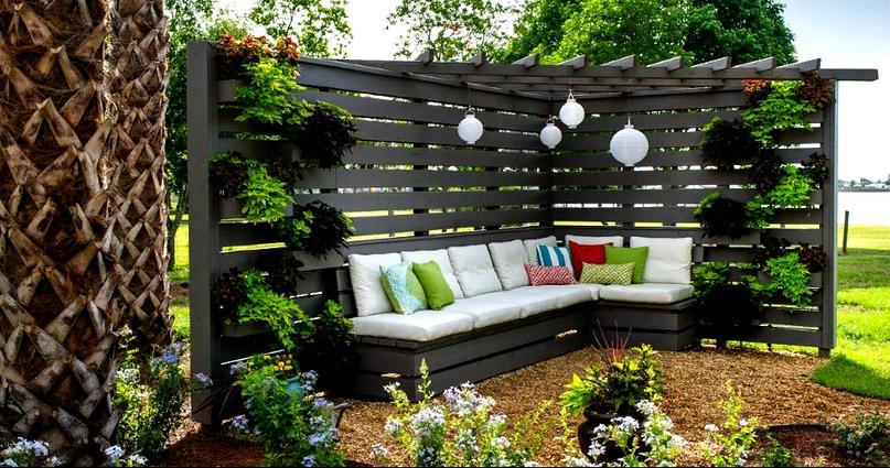 Интересные идеи для организации уютной зоны отдыха на Вашей даче, изображение №2