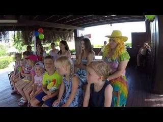 Happy birthday party by Funny Clown FUN KİDS VİDEO