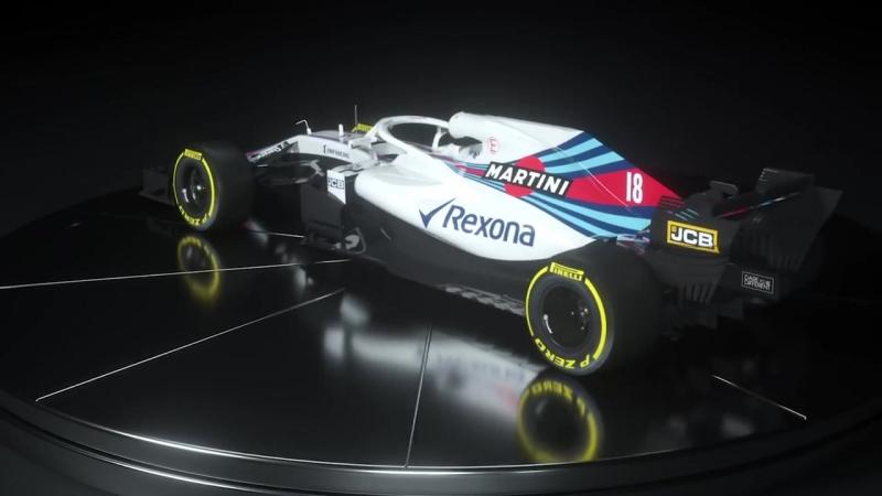 Williams FW41 Williams Martini Racing 2018