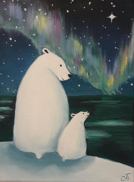 Картинка медведицы с умкой