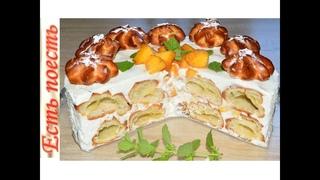 Торт без выпечки а-ля Дамские пальчики