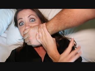 Captive Chrissy Marie - Left Hogtied in her Hotel Room