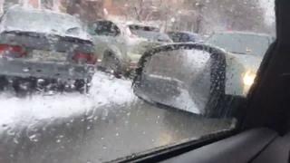 В Пензе на Московской водитель поехал навстречу потоку машин