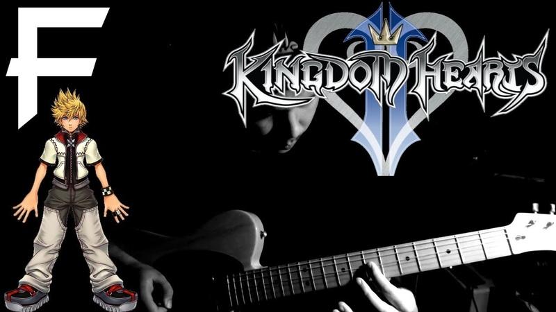 Roxas Theme - Kingdom Hearts 2 [Guitar Cover] || MetalFortress