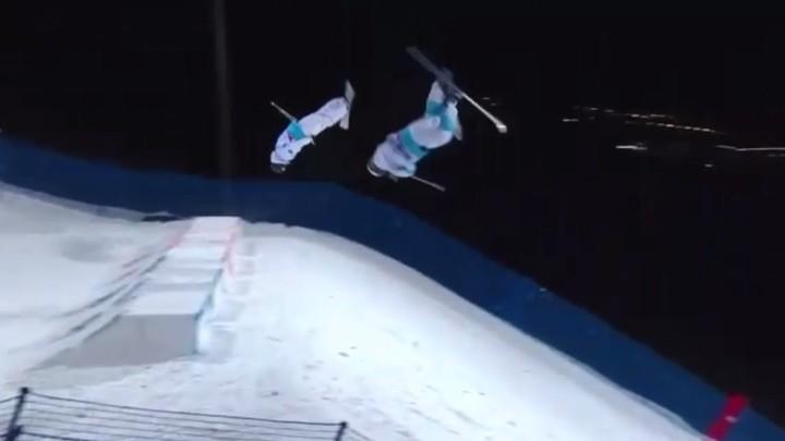 Ski team kazakhstan mogul on Instagram 🥈💪😎 @kolmakov pavel coach olympics nofilter almaty @olympickz @olympicchannel kazakhstan kazteamfr