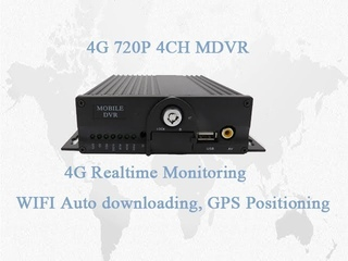 A6S41- 3/4G Dual SD Card full function GPS WIFI Mobile DVR/MDVR
