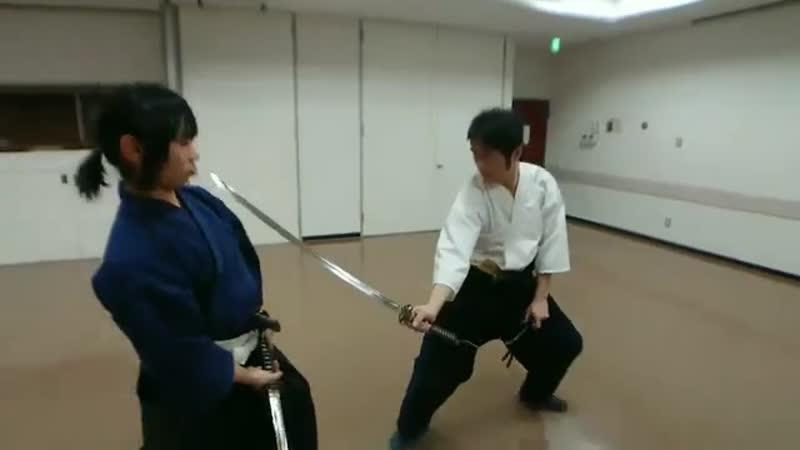 Kobudo-Tenshin ryu Hyoho 鎖合剣