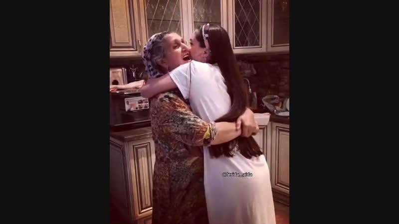Любовь бабушек бесценна🙏🏻❤️