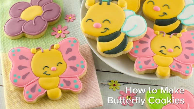 Бабачка How to Make Butterfly Cookies