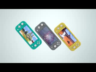 Nintendo Switch Lite (Японская реклама)
