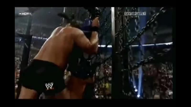 WWE Mike Knox on the No Way Out Elimination Chamber 2009 vs Rey Mysterio and Chris Jericho Майк Кнокс 11DeadFace