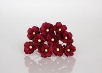 Цветы вишни средние - ягодные  5 шт - 28 руб  диаметр цветка 1,5-2см высота цветка 1 см длина стебля 7 см