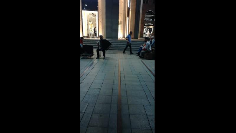 аккордионист в Ереване
