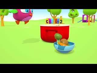 Мультики для малышей — Совенок Хоп Хоп. Развивающие мультфильмы_ Тяжело и Легко