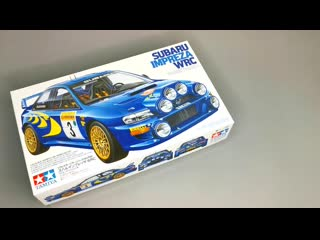 Сборная модель SUBARU Impreza WRC от Tamiya