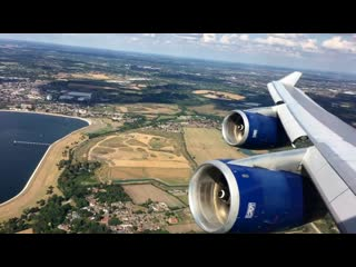 British Airways - 747-400 - London Heathrow ✈ Phoenix, AZ (Sky Harbor) - World Traveller Plus