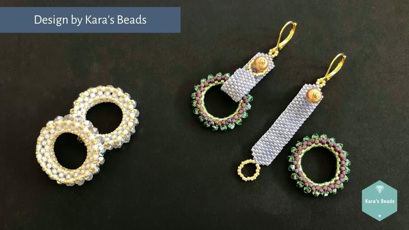 Interchangeable Earrings Base Tutorial Beaded Earrings Charms DIY Crafts