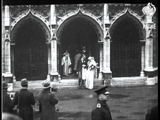 Royal Bridesmaid's Wedding  (1927)
