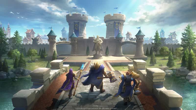 Warcraft 3 Reforged Betta ( Blizzard где разрешение 3440X1440)