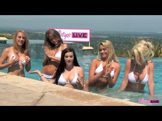 Mia Malkova, Taylor Vixen, Spencer Scott, Emily Addison, Brett Rossi - Twistys Live Special vol. 2