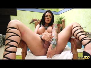 Trans500 / Trans At Play / Tatted TGirl Playtime with Debora Mastronelly