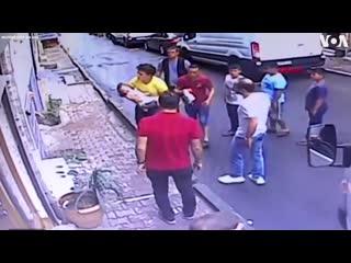 Случай в Стамбуле.