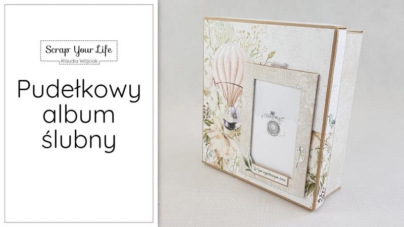 Pudełkowy album ślubny Truly Yours Piątek Trzynastego Scrapbooking