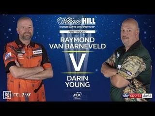 2020 World Darts Championship Round 1  van Barneveld vs Young