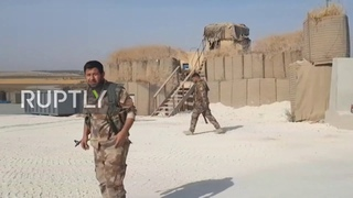 Syria: SAA takes over abandoned US military base in Manbij