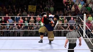 WWE 2K16 Universe Mode WWE LIVE PPV 3 Minute Warning vs Druggy