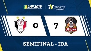 LNF2019 - Gols - Semifinais Ida - Joinville 0 x 7 Magnus