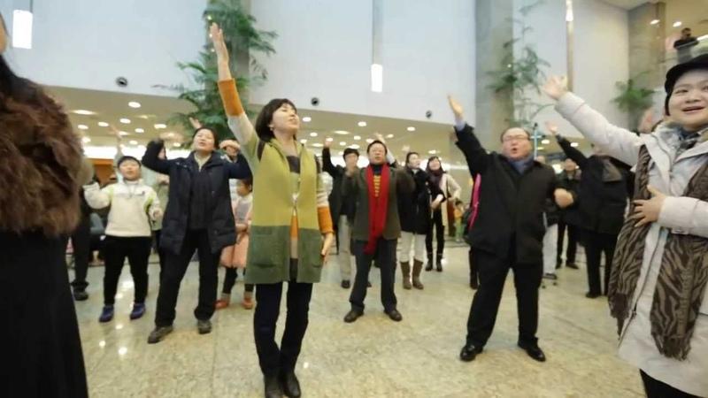 Christmas Carol Flash Mob in Myongji Hospital, Korea 크리스마스 캐롤 플래시몹 명지병원