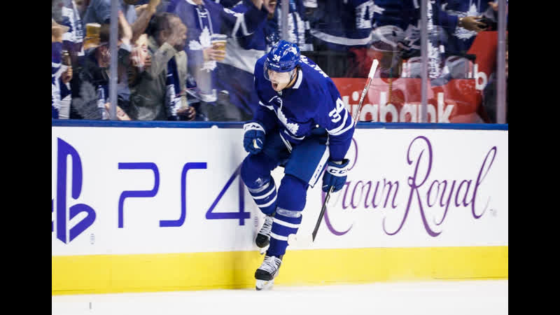 НХЛ Сезон 2019 2020 Торонто Мэйпл Лифс Оттава Сенаторз 1 ая шайба Мэттьюса