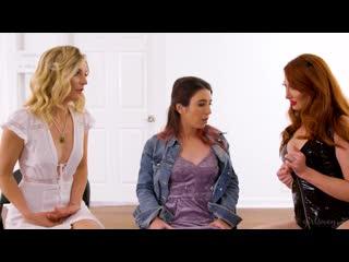 Kendra James, Serena Blair and Mona Wales - Between Heaven and Hell [Lesbian]