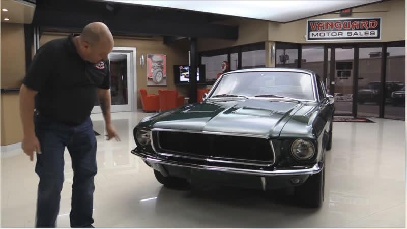 Ford Mustang 1967 Fastback Bullitt