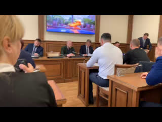 Встреча районной администрации с инициативной группой по вопросу строительства детсада в г. Колпино
