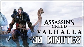 ASSASSIN'S CREED: VALHALLA 30 MINUTES GAMEPLAY - FOOTAGE LEAKED