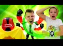 ПАПА тайм • Онлайн видео с Бен 10 - Омниверс сделал Кирилла Супергероем! - Игры стрелялки для мальчиков.